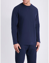 Sunspel Cellulock Cotton-jersey Long-sleeve T-shirt