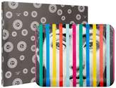 Fornasetti Tema e Variazoni Face and Stripes Tray (48cm x 60cm)