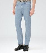Reiss Fairbourne Light Wash Slim Jeans