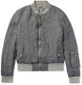 Alexander Mcqueen - Silk Bomber Jacket
