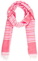 Lemlem Striped Woven Scarf w/ Tags