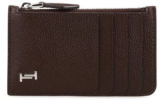Tod's Double T Zipped Cardholder