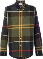Barbour large plaid shirt