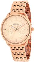 Fossil Tailor Collection ES3713 Women's Stainless Steel Analog Watch