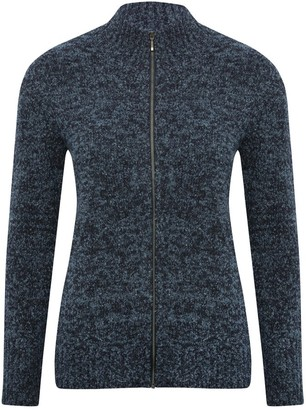 M&Co Spirit zip cardigan