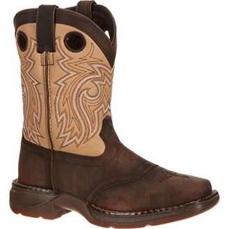 Durango Unisex Lil Big Kid Saddle Western Boot Mid Calf