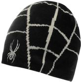Spyder Web Hat Juniors Snow Winter Warm Sports Skiing Snowboarding