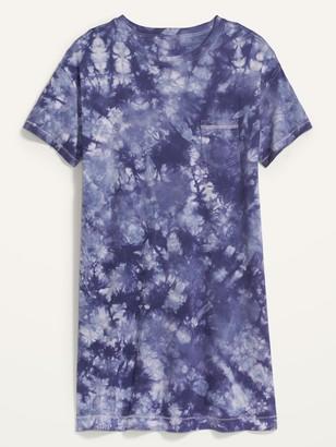 Old Navy Tie-Dye T-Shirt Plus-Size Shift Dress