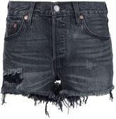 Levi's frayed denim shorts - women - Cotton - 29