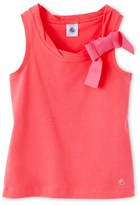 Petit Bateau Girls camisole with bow