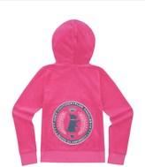 Juicy Couture Girls Logo Velour Scottie Crest Original Jacket