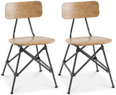 Set of 2 Cooper Dining Chairs, Direct Ship