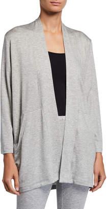 Eileen Fisher Bracelet-Sleeve Jersey Kimono Jacket