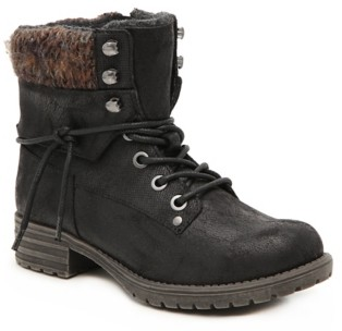 B52 By Bullboxer Lindsey Combat Boot - Kids'