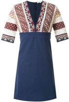 Vanessa Bruno embroidered v-neck dress