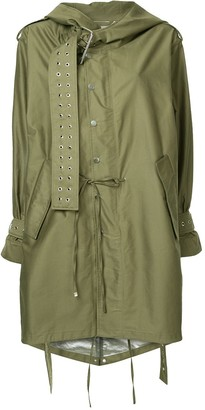 Monse military style parka