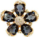 One Kings Lane Vintage Bellini Sapphire Crystal Brooch
