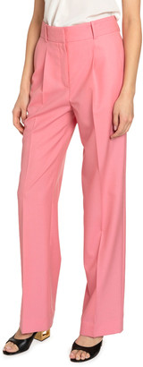 Givenchy Summer Wool Masculine-Fit Trousers