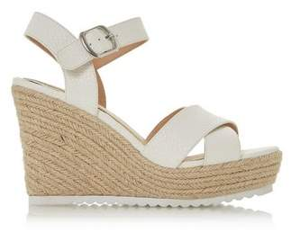 Dorothy Perkins Womens *Head Over Heels By Dune White 'Katyaa' Ladies High Heel Sandals, White