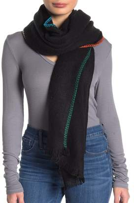 Free People Common Thread Blanket Wrap Scarf