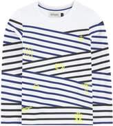 Jean Bourget Striped cotton top