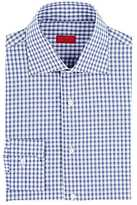Isaia MEN'S CHECKED COTTON DRESS SHIRT