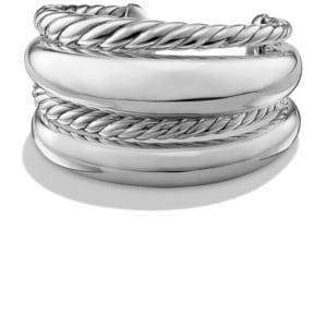 David Yurman Pure Form Four-Row Bracelet in Sterling Silver