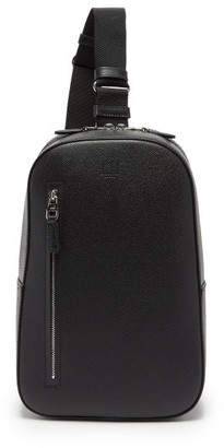 Dunhill Cadogan Grained-leather Cross-body Bag - Black