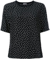 P.A.R.O.S.H. polka dot T-shirt - women - Silk - XS
