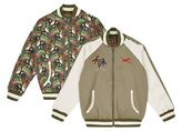 Stella McCartney Eastwood Palm Tree Bomber Jacket
