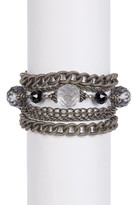 Sorrelli Threaded Crystal Bracelet