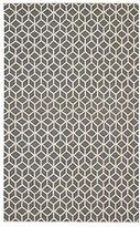DwellStudio Facet 5x7.6 Rug in Charcoal