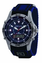 Kahuna Men's Watch K5V-0005G with Blue Rip Strap