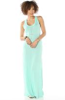Alternative Apparel The Eco Racer Maxi Dress
