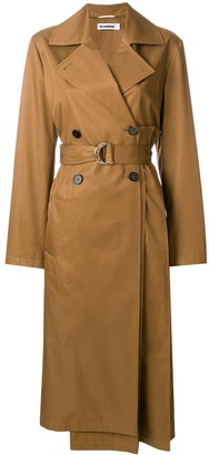 Jil Sander Pleated Back Trench Coat
