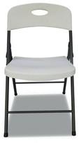 Alera® Resin Plastic/Resin Folding Chair Alera