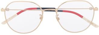 Gucci GG0684O soft round-frame glasses