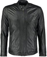 Pepe Jeans Leather Jacket 999black