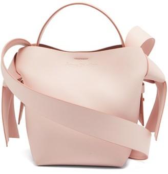 Acne Studios Musubi Mini Leather Cross-body Bag - Pink