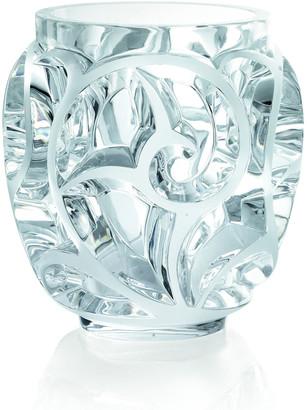 Lalique Tourbillions Clear Vase
