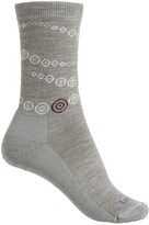 Lorpen Outdoor Lifestyle Circles Socks - Merino Wool Blend, Crew (For Women)