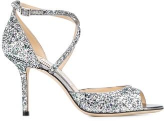 Jimmy Choo Emsy 85mm sequin heels