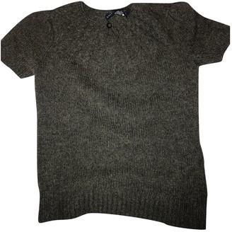Ralph Lauren Grey Wool Top for Women