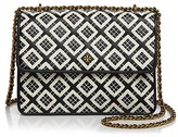 Tory Burch Robinson Woven Quilted Convertible Shoulder Bag