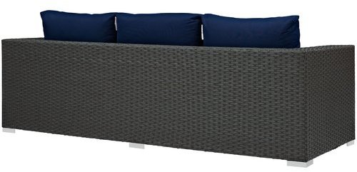 Modway Sojourn Sofa with Cushions