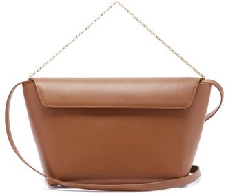 Tsatsas Olive Leather Bucket Bag - Brown