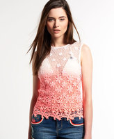Superdry Daisy Lace Tank Top