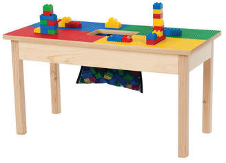 """Lego Synergy Management Llc Compatible Play Table w/ Storage Bag, 32""""x16"""", w/ Play Table Cove"""