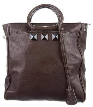 Marc Jacobs Leather Embellished Satchel