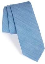 Nordstrom Men's Solid Cotton Blend Skinny Tie